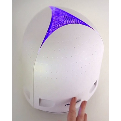 zoom in free shipping airfree iris filterless air purifier color