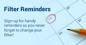 Filter Reminders