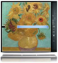 Rabbit Air Van Gogh Sunflower Artist Series Minus A2 SPA-780A