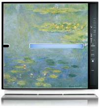 Rabbit Air Monet Water Lilies Artist Series Minus A2 SPA 700A